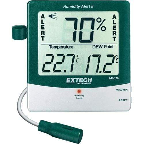 Extech 445815: Hygro-Thermometer Humidity Alert with Dew Point - anaum.sa