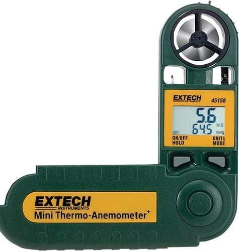 Extech 45158: Mini Thermo-Anemometer with Humidity - anaum.sa