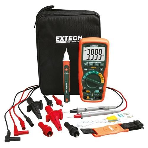 Extech EX505-K: Heavy Duty Industrial MultiMeter Kit - anaum.sa