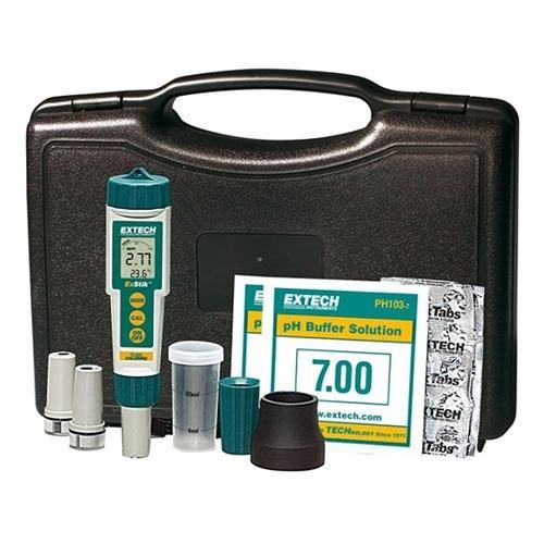 Extech EX800: ExStik 3-in-1 Chlorine, pH, Temperature Kit - anaum.sa