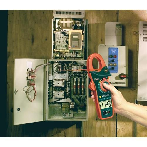 Extech EX810: 1000A AC Clamp Meter with IR Thermometer - anaum.sa