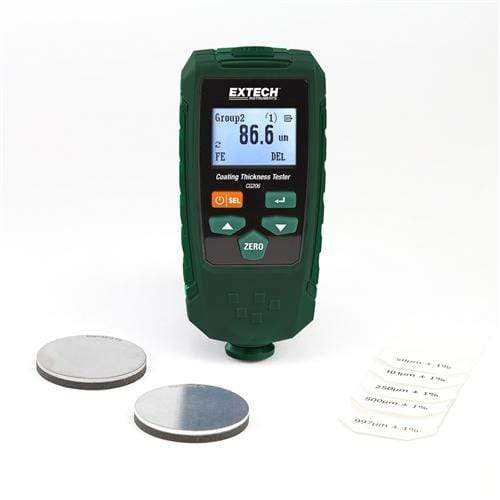 Extech CG206: Coating Thickness Tester - anaum.sa