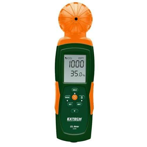 Extech CO240: Indoor Air Quality, Carbon Dioxide (CO2) Meter - anaum.sa