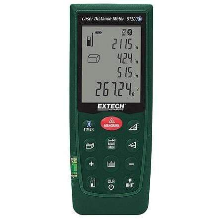 Extech DT500: Laser Distance Meter 70 meters with Bluetooth - anaum.sa