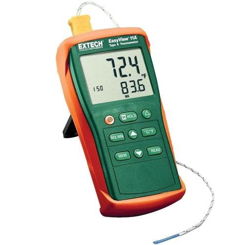 Extech EA11A: EasyView Type K Single Input Thermometer - anaum.sa
