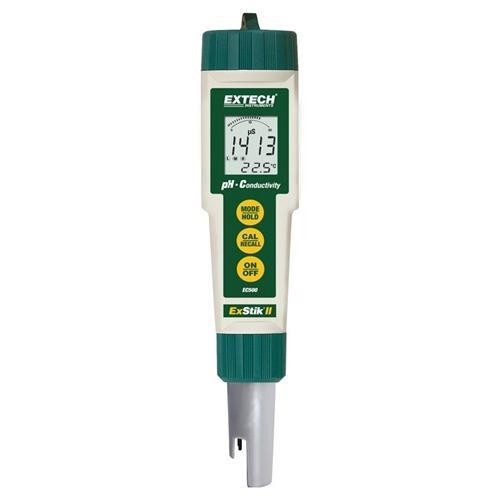 Extech EC500: Waterproof ExStik II pH/Conductivity Meter - anaum.sa
