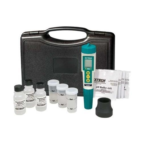 Extech EC510: Waterproof ExStik II pH/Conductivity Meter Kit - anaum.sa