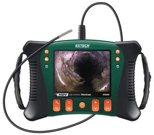Extech HDV610: HD VideoScope with 5.5mm Flexible Probe - anaum.sa