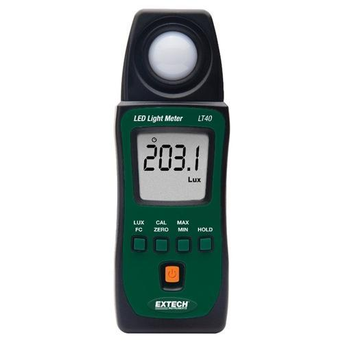 Extech LT40: LED Light Meter - anaum.sa