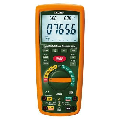 Extech MG302: 13 Function Wireless True RMS MultiMeter/Insulation Tester - anaum.sa