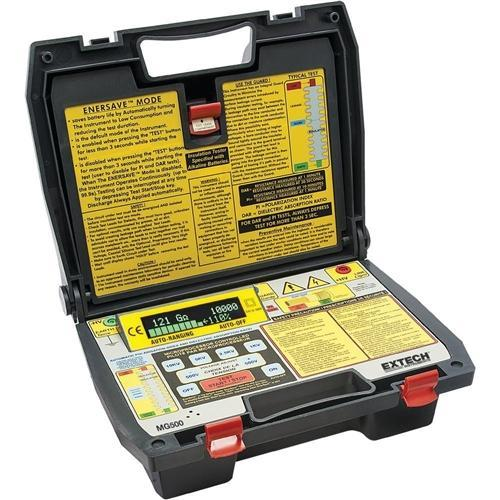 Extech MG500: Digital High Voltage Insulation Tester - anaum.sa