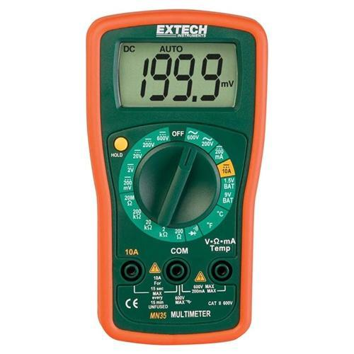 Extech MN35: Digital Mini MultiMeter - anaum.sa