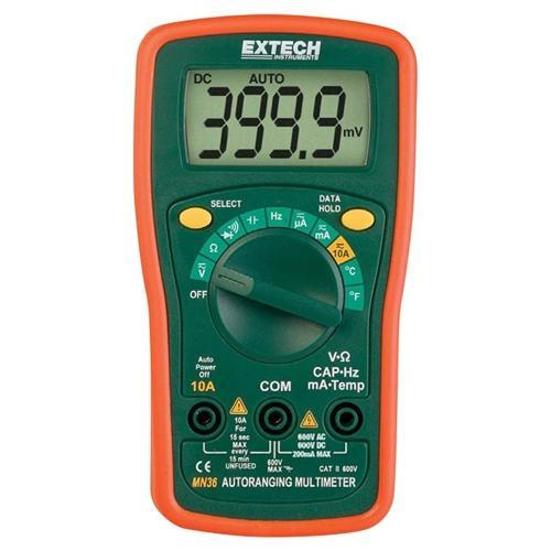 Extech MN36: Digital Mini MultiMeter - anaum.sa