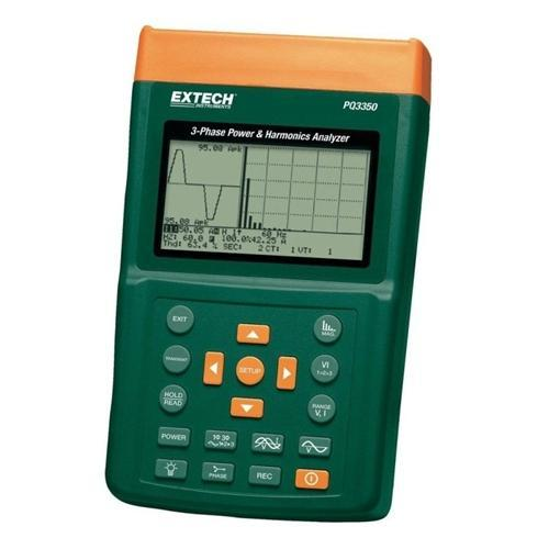 Extech PQ3350-1: 3-Phase Power & Harmonics Analyzers - anaum.sa