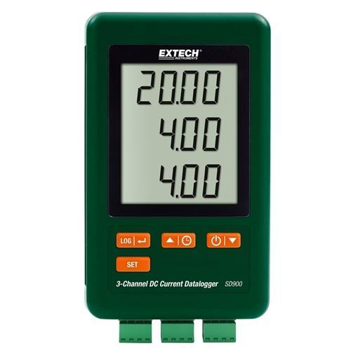 Extech SD900: 3-Channel DC Current Datalogger - anaum.sa
