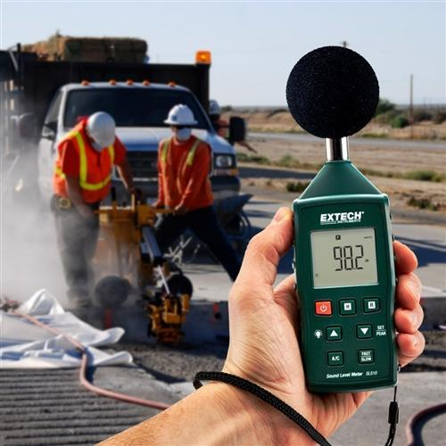 Extech SL510 : Sound Level Meter - anaum.sa