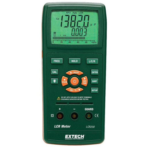 Extech LCR200: Passive Component LCR Meter - anaum.sa