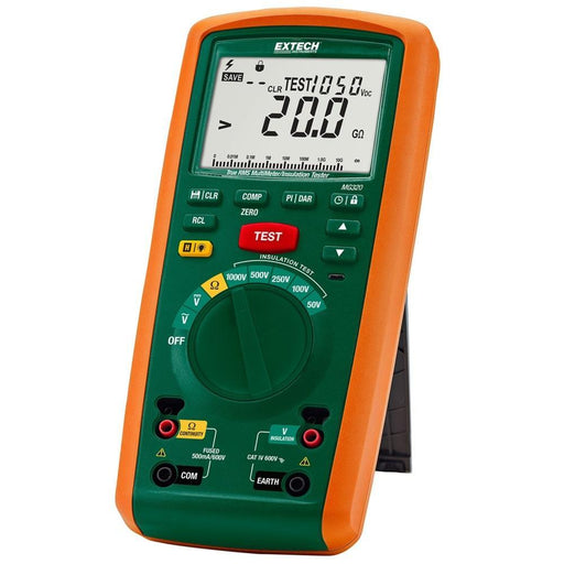 Extech MG320: CAT IV Insulation Tester/True RMS MultiMeter - anaum.sa