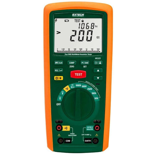 Extech MG325: CAT IV Insulation Tester/True RMS MultiMeter - anaum.sa