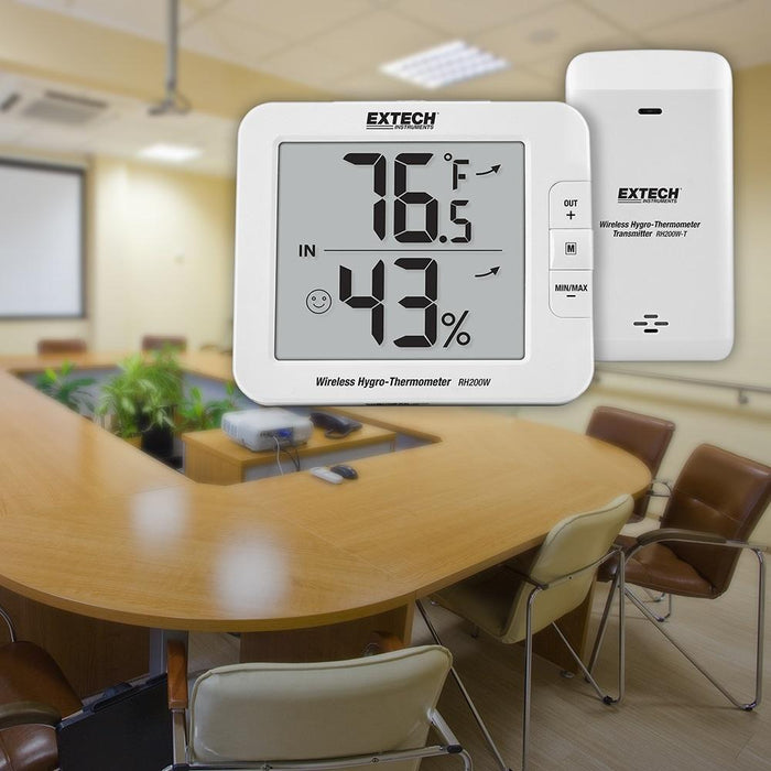 Extech RH200W: Multi-Channel Wireless Hygro-Thermometer - anaum.sa