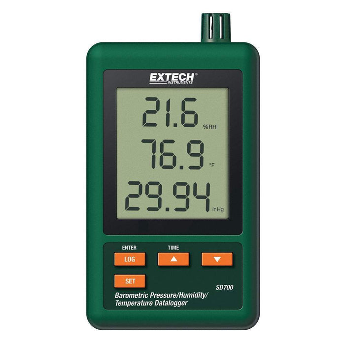 Extech SD700: Barometric Pressure/Humidity/Temperature Datalogger - anaum.sa