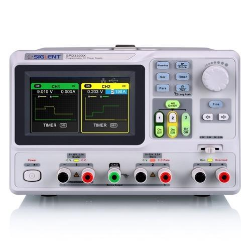 Siglent SPD3303X : Programmable DC Power Supply - anaum.sa