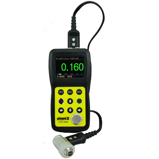 Phase II UTG-4000 : Ultrasonic Thickness Gauge - anaum.sa