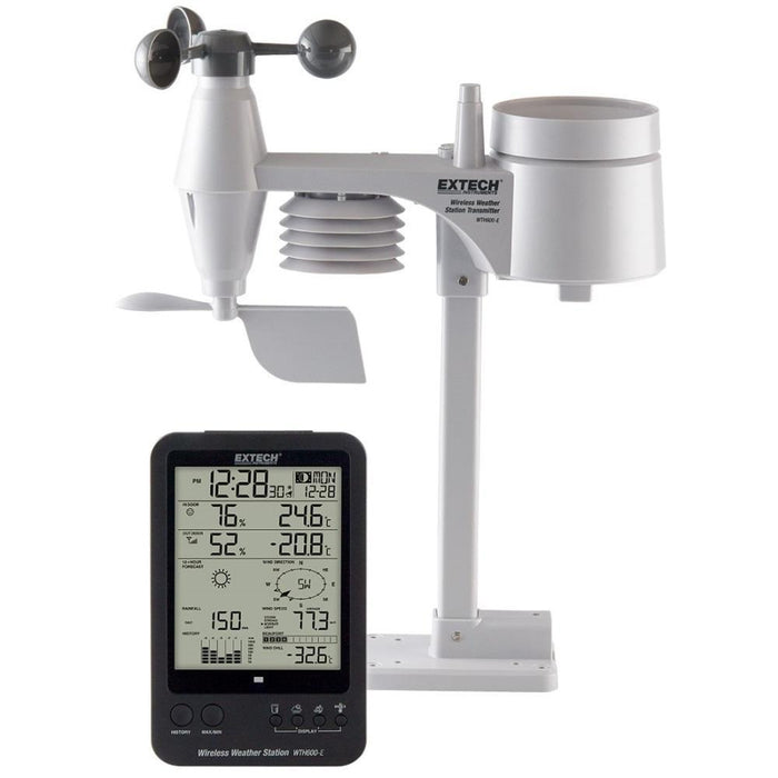 Extech WTH600-E-KIT: Wireless Weather Station Kit - anaum.sa