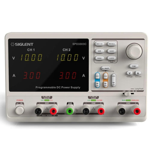 Siglent SPD3303C :  Programmable Linear DC Power Supply - anaum.sa