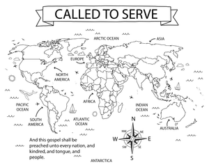 Called to Serve Map