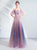 Off the Shoulder Spaghetti Straps A-line Prom Dress