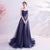 Starry Sky Pattern Sweat Heart A-line Evening Dress