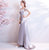 Illusion Neck Sweat Heart Wedding Dress with Sweep Train