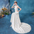 Halter Neck Mermaid Satin Wedding Dress with Chapel Train