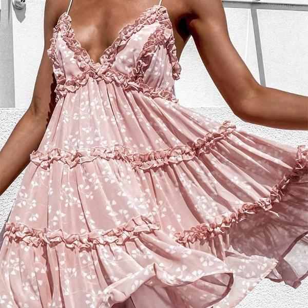 robe florale style nuisette