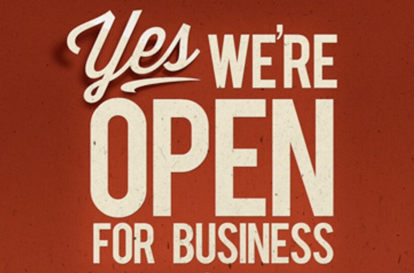 Open for Business 6 Days