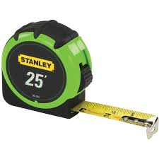 Tape Measure Hi-Vis, Box of 4