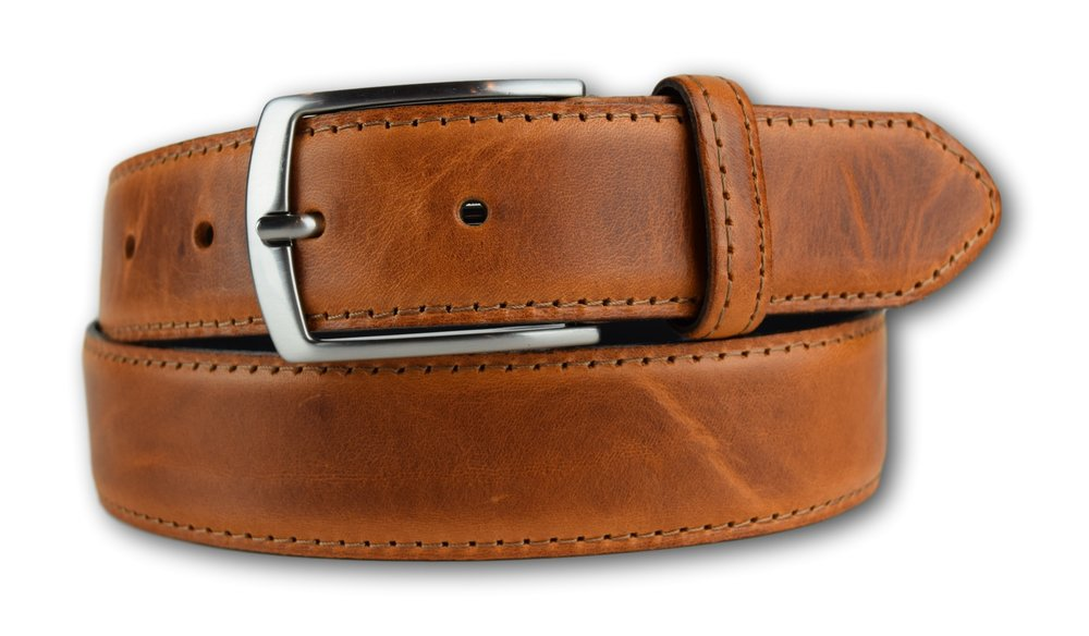 Duke Leather Belt