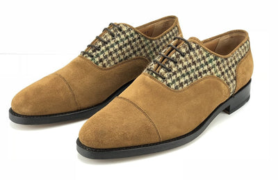 Midway Oxford Suede and Tweed