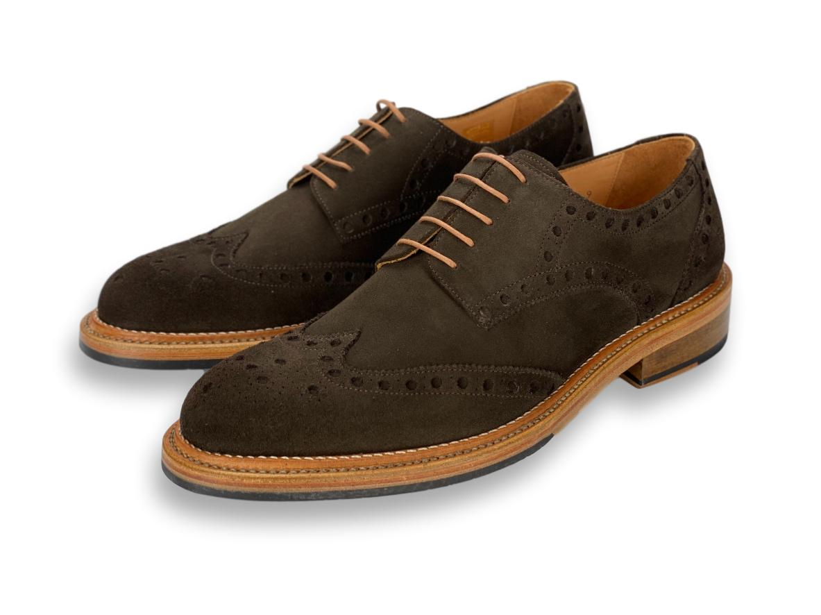 Memphis Wingtip Derby Double Stitched Welt