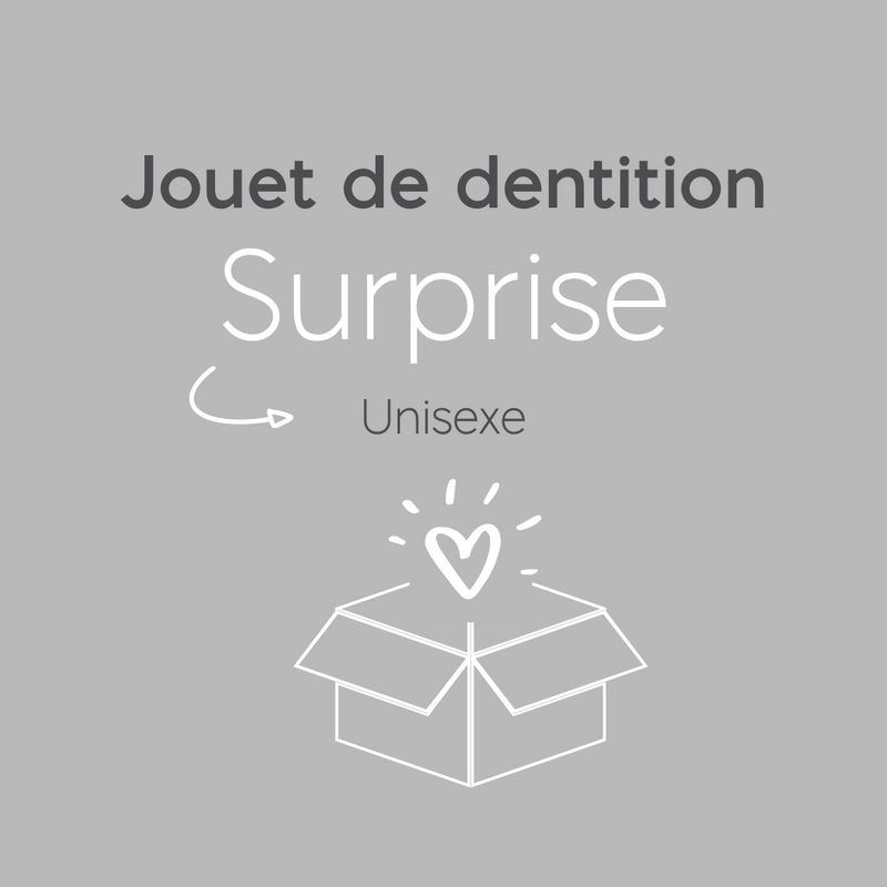 Jouet de dentition surprise | Unisexe