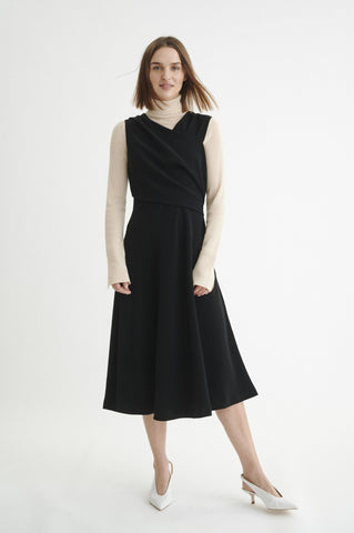 Veta Drape Dress