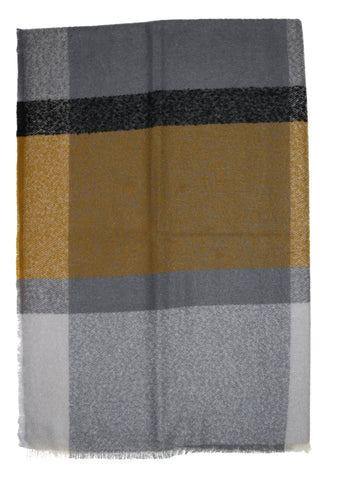 Grid Plaid Throw
