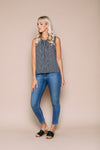Kelly Sleeveless Blouse