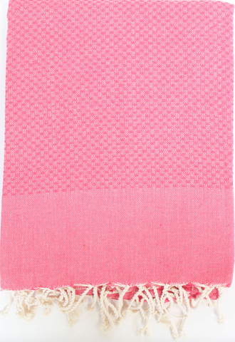 Strawberry Honeycomb Fouta Towel