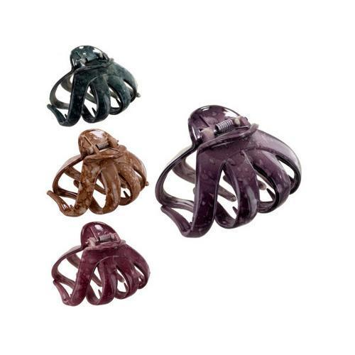 hair jaw clip assorted colors ( Case of 72 )