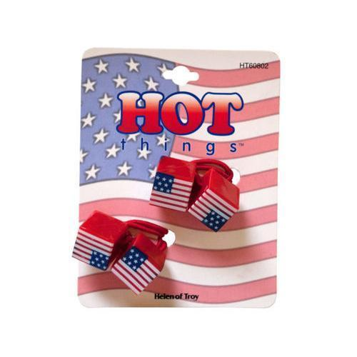 Patriotic Cubes Ponytail Holders ( Case of 72 )