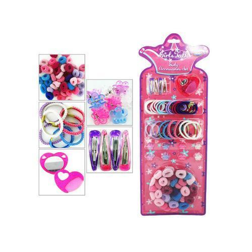 Girly fashion hair accessory set ( Case of 72 )