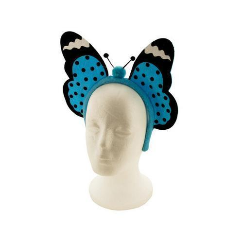 Blue Butterfly Headband ( Case of 18 )