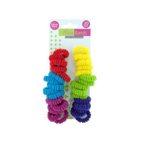 Twist Hair Bands ( Case of 96 )